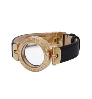 Round Locket Bracelet