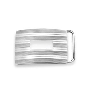 Sterling Belt Buckle