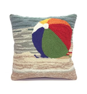 Liora Manne Frontporch Life's A Beach Indoor/Outdoor Pillow Sand