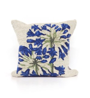 Liora Manne Frontporch Desert Lily Indoor/Outdoor Pillow Neutral