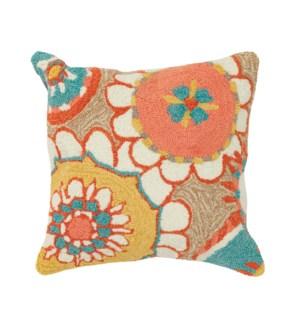 Liora Manne Frontporch Florentine Indoor/Outdoor Pillow Sand