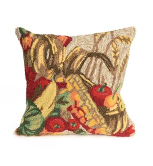 Liora Manne Frontporch Basket Indoor/Outdoor Pillow Natural