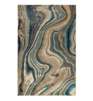 Liora Manne Ashford Agate Indoor Rug Blue