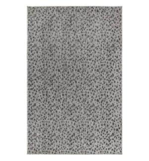 Liora Manne Carmel Leopard Indoor/Outdoor Rug Grey