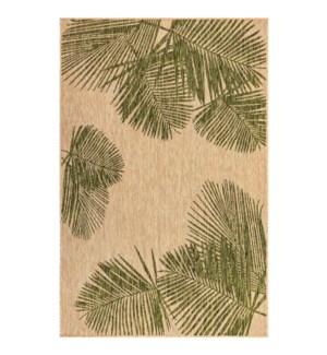 Liora Manne Carmel Palm Indoor/Outdoor Rug Green