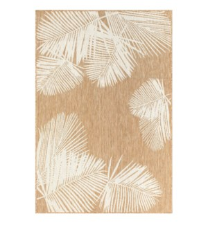Liora Manne Carmel Palm Indoor/Outdoor Rug Sand