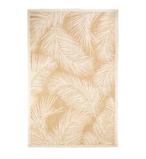 Liora Manne Carmel Fronds Indoor/Outdoor Rug Sand