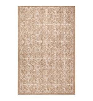 Liora Manne Carmel Antique Tile Indoor/Outdoor Rug Sand