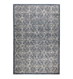 Liora Manne Carmel Antique Tile Indoor/Outdoor Rug Navy