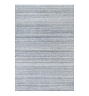 Liora Manne Dakota Stripe Indoor/Outdoor Rug Blue