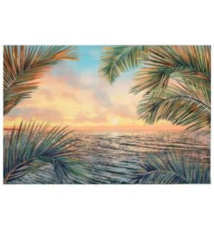 Liora Manne Illusions Akumal Palms Indoor/Outdoor Mat Sunset