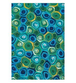 Liora Manne Illusions Murano Swirls Indoor/Outdoor Mat Caribbean