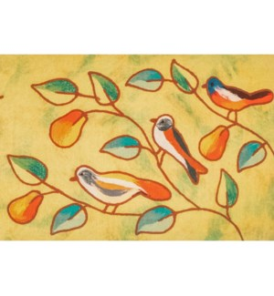 Liora Manne Illusions Song Birds Indoor/Outdoor Mat Green