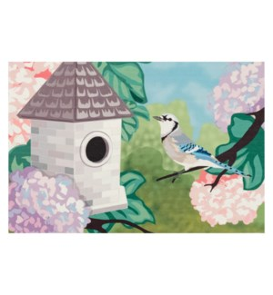 Liora Manne Illusions Blue Jay Indoor/Outdoor Mat Spring
