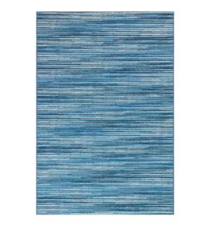 Liora Manne Marina Stripes Indoor/Outdoor Rug China Blue
