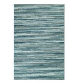 Liora Manne Marina Stripes Indoor/Outdoor Rug Aqua