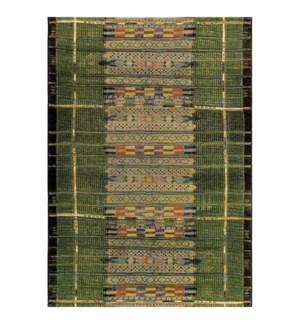 Liora Manne Marina Tribal Stripe Indoor/Outdoor Rug Green
