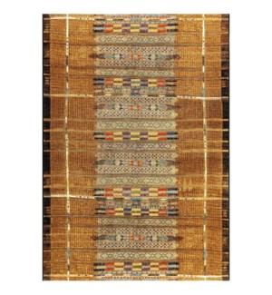 Liora Manne Marina Tribal Stripe Indoor/Outdoor Rug Gold