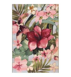 Liora Manne Marina Tropical Floral Indoor/Outdoor Rug Multi