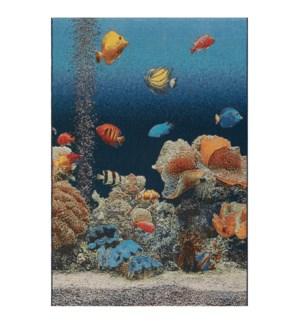Liora Manne Marina Aquarium Indoor/Outdoor Rug Ocean
