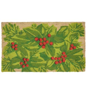 Liora Manne Natura Hollyberries Outdoor Mat Natural