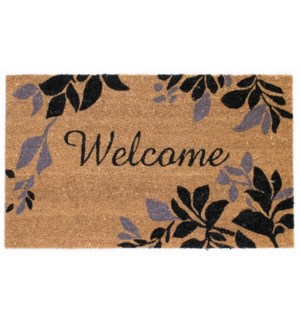 Liora Manne Natura Leaves Border Outdoor Mat
