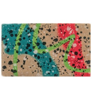 Liora Manne Natura Graffiti Outdoor Mat Multi