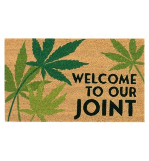 Liora Manne Natura Welcome To Our Joint Outdoor Mat Natural