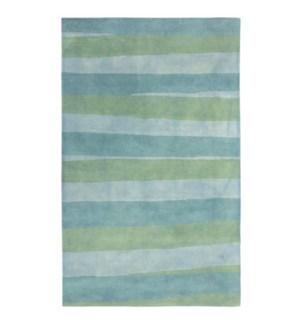 Liora Manne Piazza Stripes Indoor Rug Sea Breeze