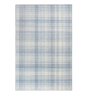 Liora Manne Preston Plaid Indoor/Outdoor Rug Blue