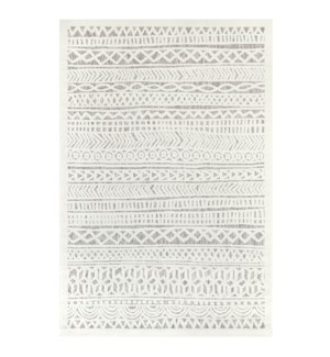 Liora Manne Rialto Tribal Stripe Indoor/Outdoor Rug Ivory