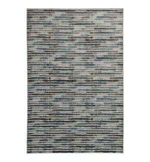 Liora Manne Soho Stripe Indoor Rug Blue