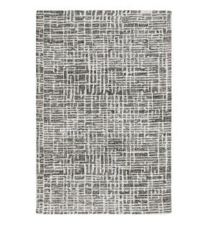 Liora Manne Savannah Grid Indoor Rug Charcoal