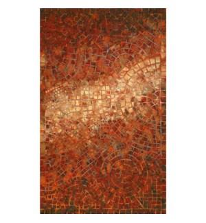 Liora Manne Visions V Arch Tile Indoor/Outdoor Rug Red