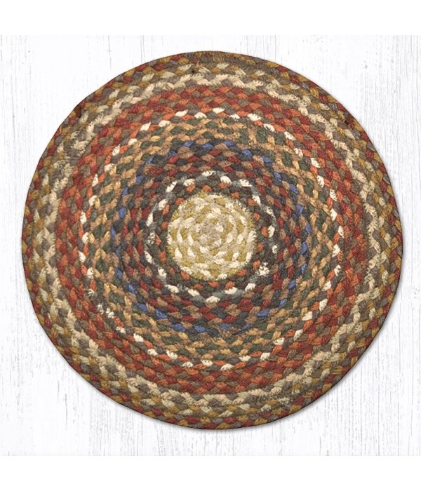 CH-300 Honey/Vanilla/Ginger Jute Chair Pad 15.5 x 15.5 in.x0.17 in.