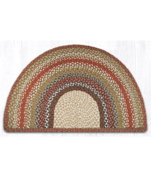 SC-300 Honey/Vanilla/Ginger Large Rug Slice 24 in.x39 in.x0.17 in.