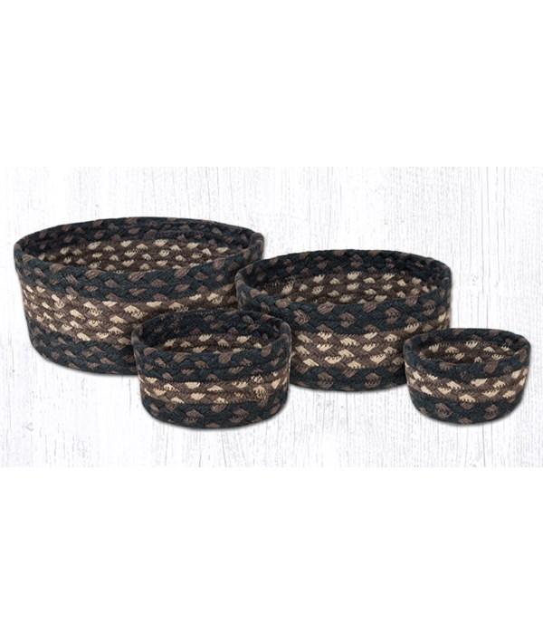 CB-313 Mocha/Frappuccino Casserole Baskets Set of 4x0.17 in.