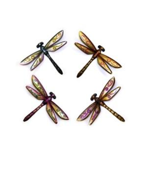 Metal Dragonflies Set of 4 - 18.5 in. L