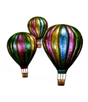 METAL BALLOON WALL HANGING 16 x  13.5 in.