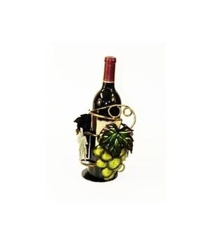 Metal White Grape Wine Holder 9 in.H