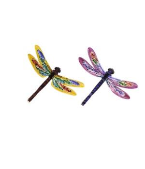 Metal Dragonflies Set of 2 - 18 in. L