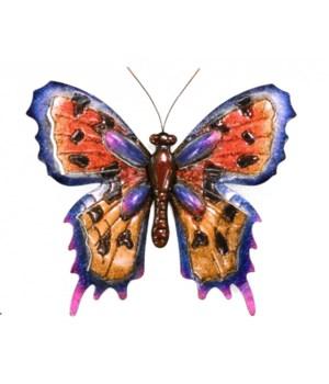 Large Metal Butterfly - 22 in. W