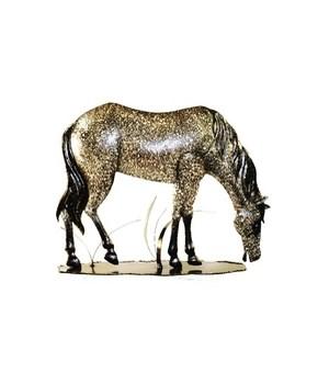 Metal Standing Horse - 15.5 in.