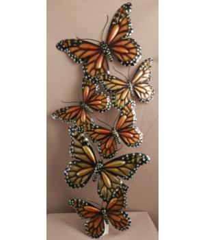 Monarch B/fly Group Plaque 25.5  x 12 in.