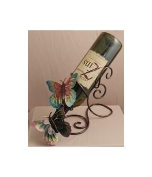 Butterfly Wine Holder 12 in.L
