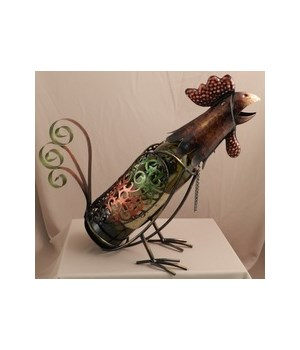 Rooster Wine Holder 13 in.L