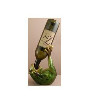 Frog Wine Holder 8.5 in.L