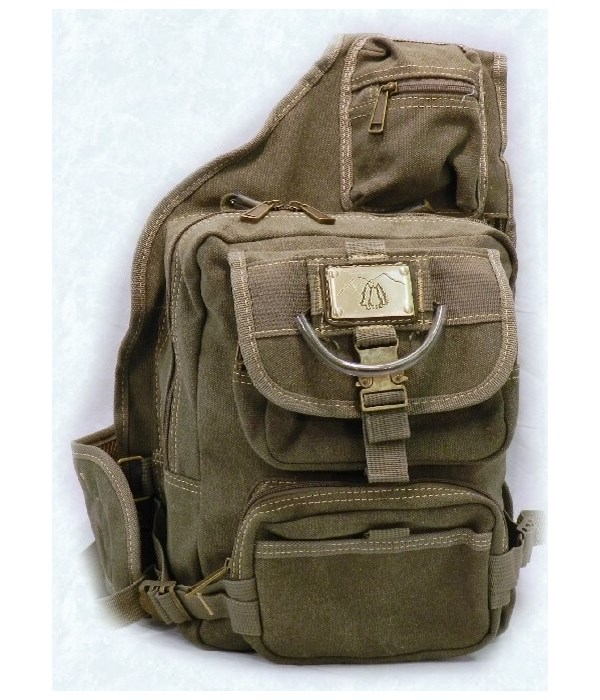 GREEN CANVAS SLING 12 in.