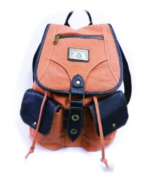 CORAL CANVAS BACKPACK 18.5 in.