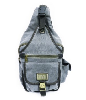GREY CANVAS SLING 14 in.